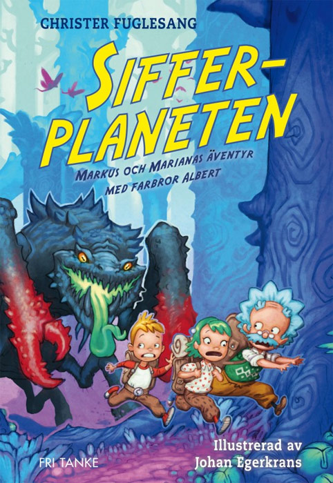 Sifferplaneten omslag